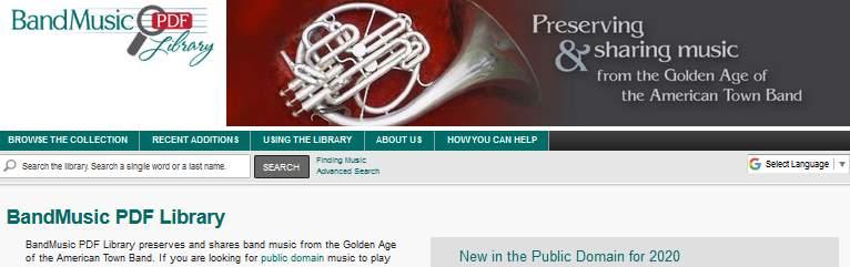 Band Music PDF Library